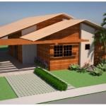 Kit para casas em madeira