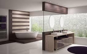 Banheiros modernos com moveis planejados