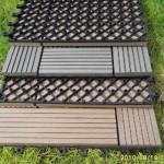 mini deck de madeira e plástico fotos