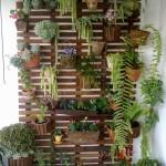 Deck De Madeira Para Jardim Vertical