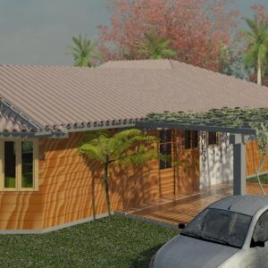 Projeto casa com deck