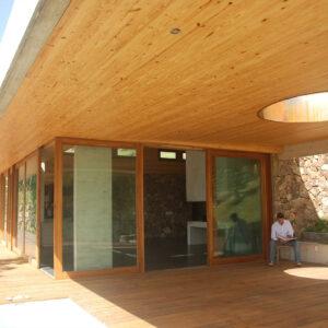 coberturas de madeira