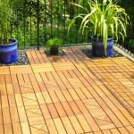 deck de madeira pequeno