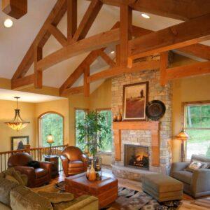 estrutura de madeira para cobertura
