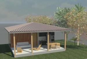 Projeto casa pequena