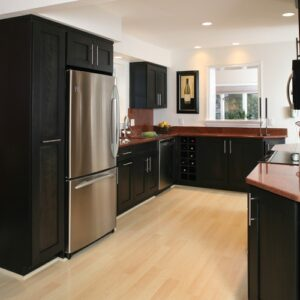 piso laminado na cozinha