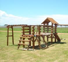 playground de madeira infantil ecologico