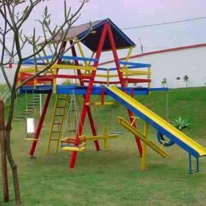 playground infantil para escola